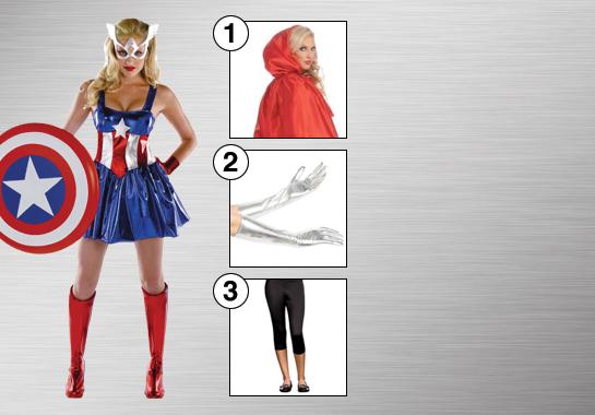 Captain Miss America Accessories