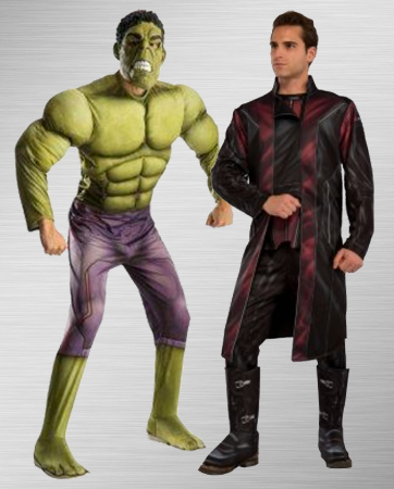 Hawkeye and Hulk Costume Ideas