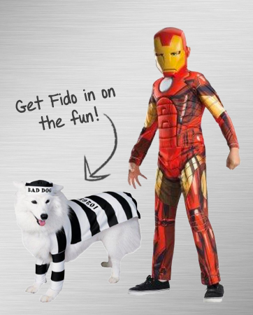 Iron Man and Robber Costume Ideas