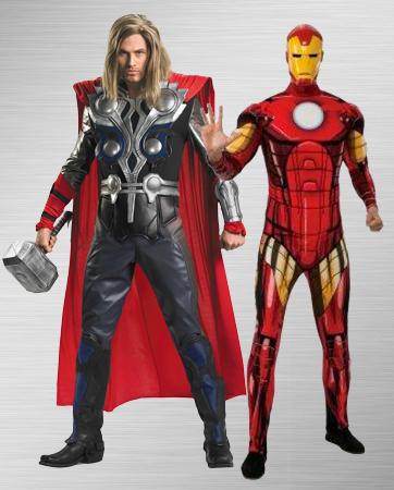 Iron Man and Thor Costume Ideas