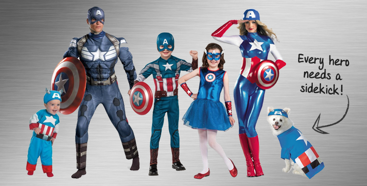The Avengers Group Costume Ideas