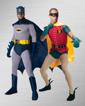 Batman and Robin Costume Ideas