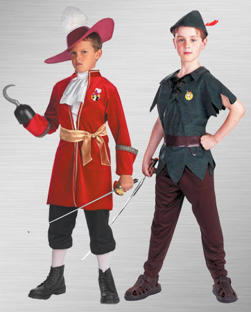 Captain Hook and Peter Pan Costume Ideas