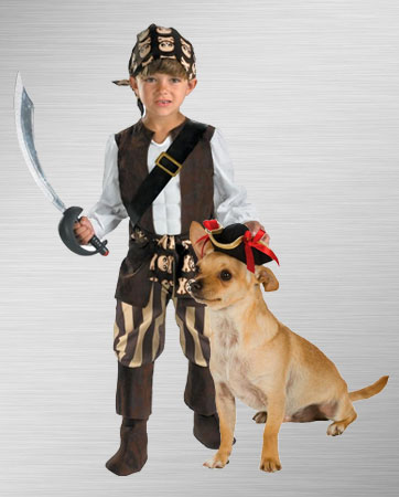 Kid and Dog Pirate Costume Ideas