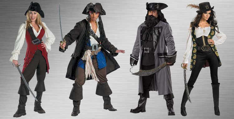 Pirates Group Costume Ideas