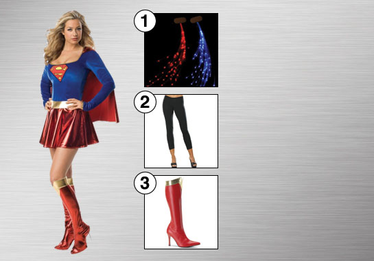 Supergirl Costume Accessories