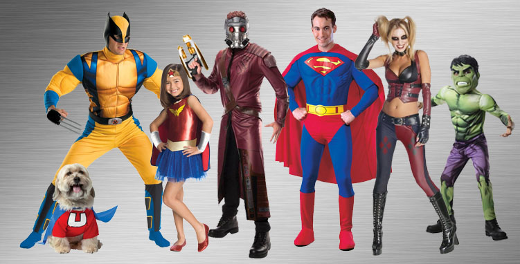 Superheroes Costume Ideas