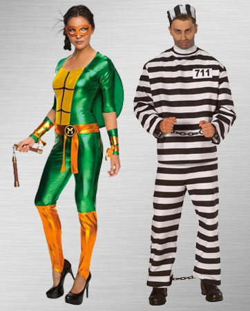 Female Michelangelo and Male Convict Costume Ideas  sc 1 st  BuyCostumes.com & Teenage Mutant Ninja Turtles Costumes - Halloween Costumes ...