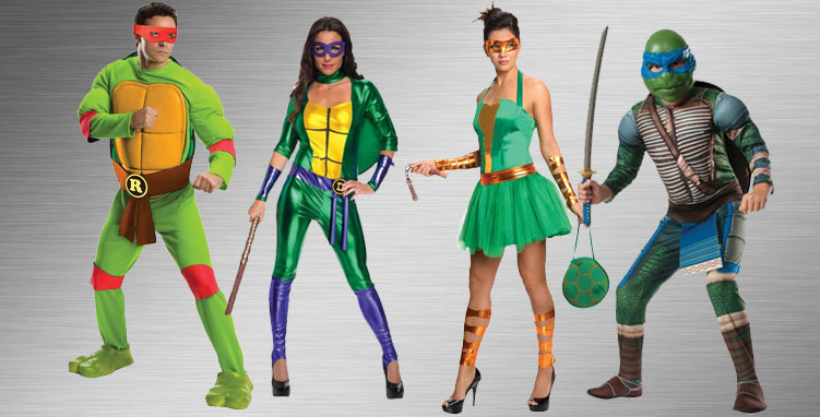 Teenage Mutant Ninja Turtles Group Costume Ideas