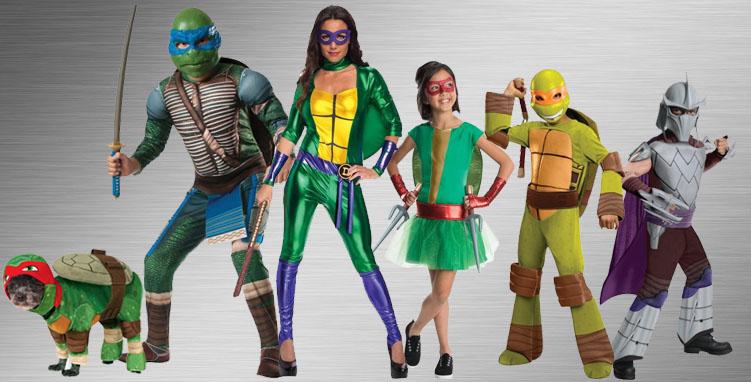 Teenage Mutant Ninja Turtles Costume Ideas