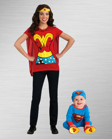 Wonder Woman and Infant Superman Costume Ideas