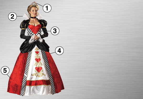 Queen of Hearts Ultimate Costume