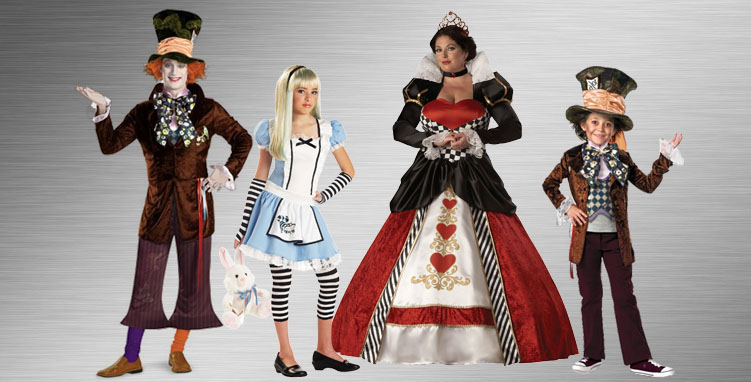 Alice in Wonderland Group Costume  Ideas