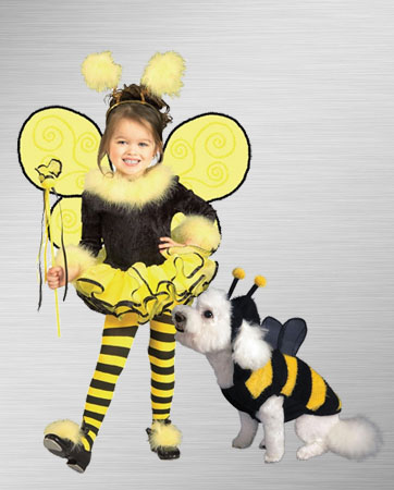 Bumble Bee and Dog Costume Ideas