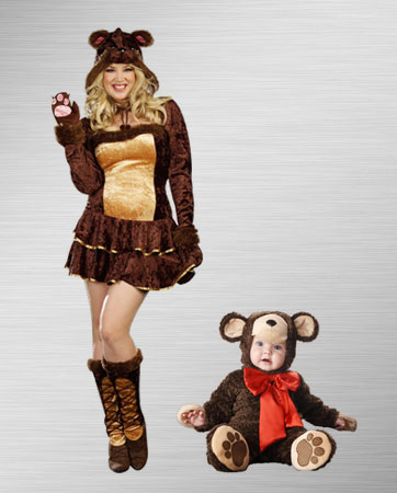 Momma Bear and Cub Costume Ideas