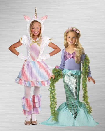 Unicorn and Mermaid Costume Ideas