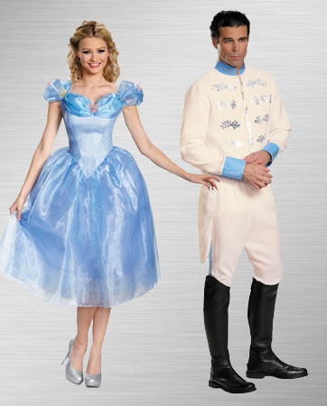 Cinderella and Prince Charming Costume Ideas
