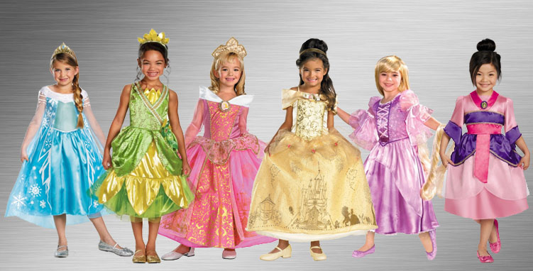 Disney Princess Group Costume Ideas