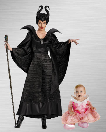 Maleficent and Aurora Costume Ideas