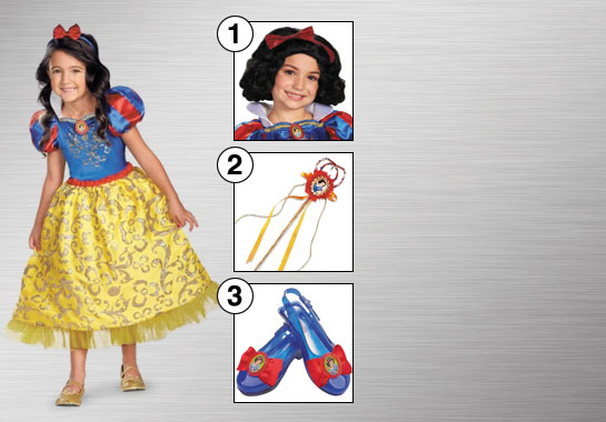 Girls Snow White Costume Accessories