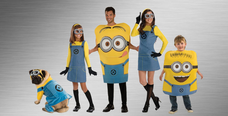 Minion Group Costume Ideas