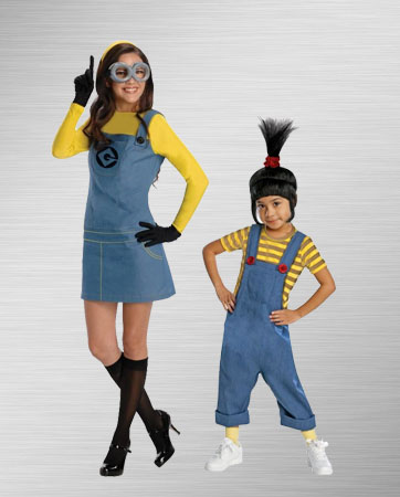Lady Minion and Kid Agnes Costume Ideas