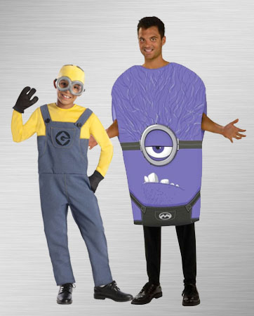 Purple Minion and Dave Costume Ideas