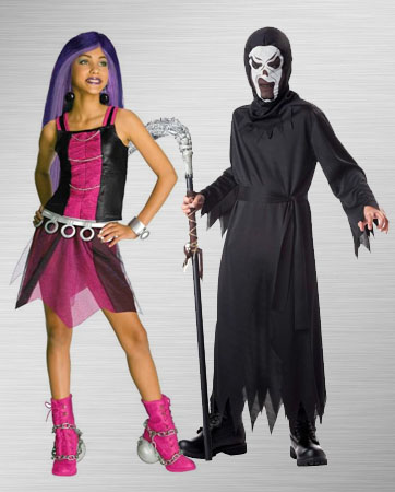 Spectra Vondergiest and Male Ghost Costume Ideas