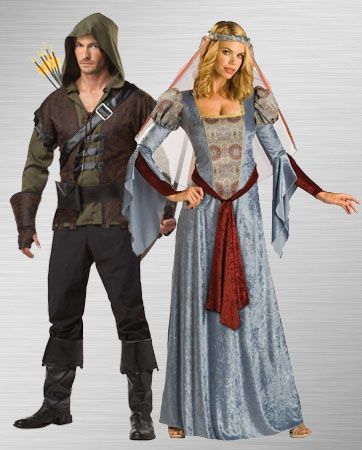 Robin Hood and Maid Marian Costume Ideas