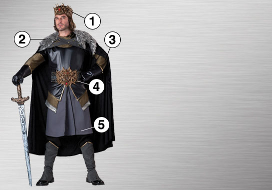 Medieval King Ultimate Costume Ideas