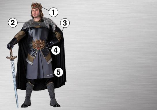 Medieval King Ultimate Costume Ideas