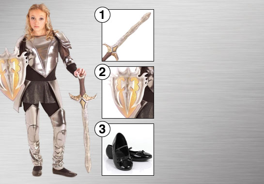 Snow White Warrior Costume Accessories