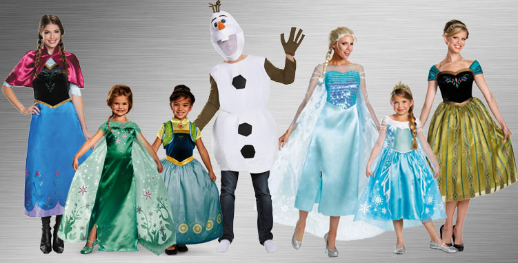 Frozen Costume Ideas