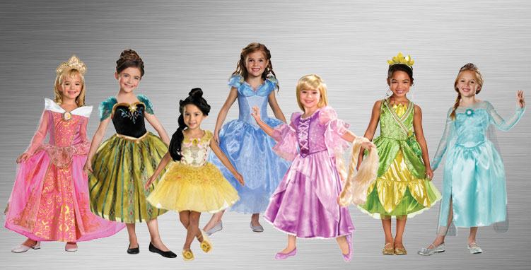 Princess Group Costume Ideas