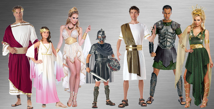 Greek and Roman Costume Ideas