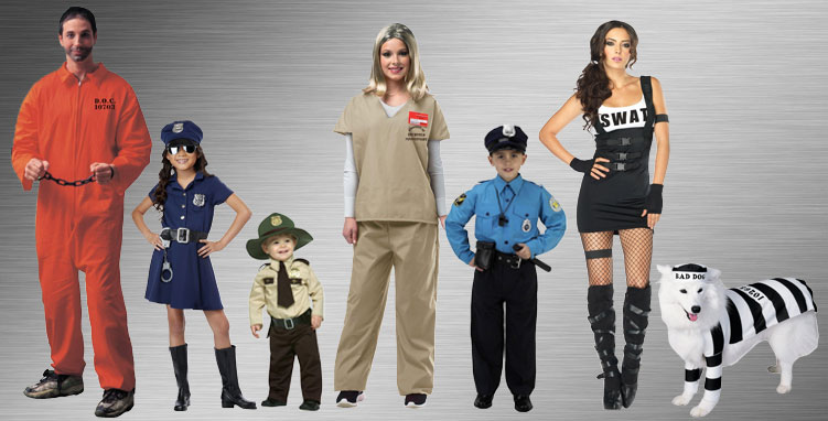 Police and Criminal Costume Ideas