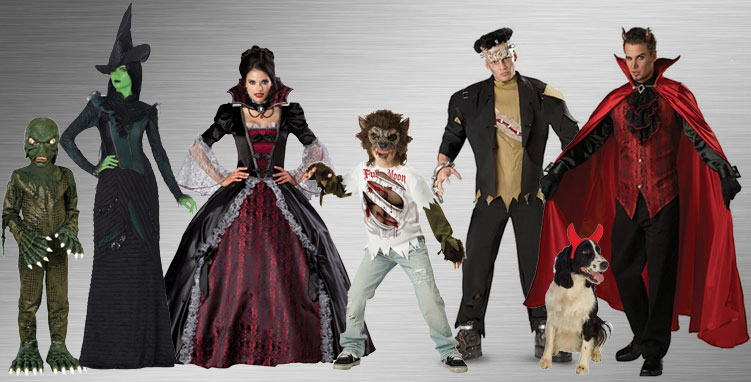 Horror and Gothic Costume Ideas