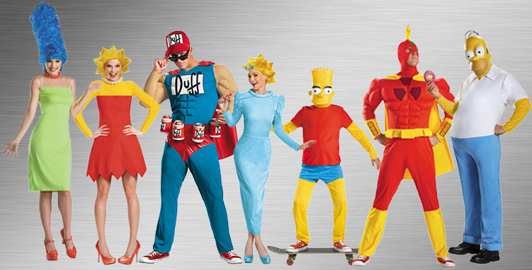 Simpsons Group Costume Ideas