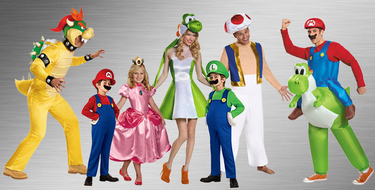 Video Game Group Costume Ideas