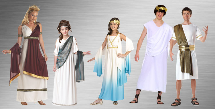 Greek and Roman Group Costume Ideas