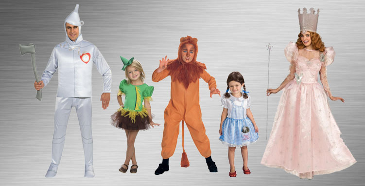 Wizard of Oz Group Costume Ideas