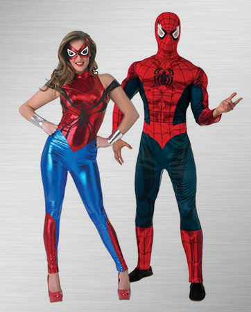 Spider-Man and Spider-Girl Costume Ideas