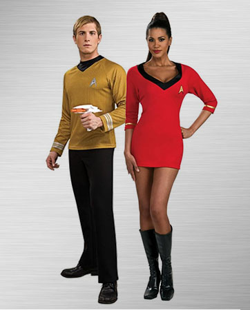 Star Trek Couple Costume Ideas