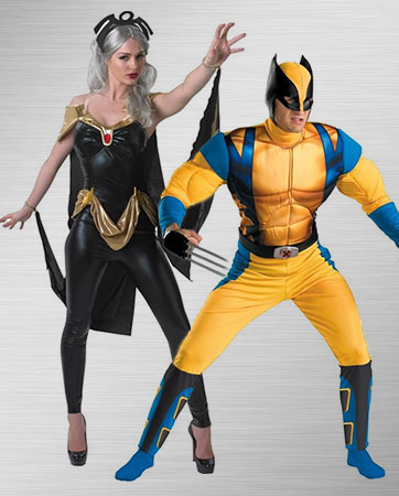 X-Men Storm and Wolverine Costume Ideas