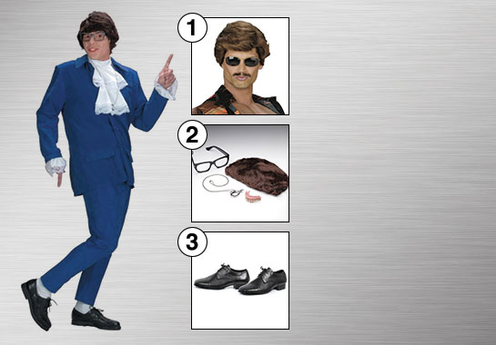 Austin Powers Costume Accessories