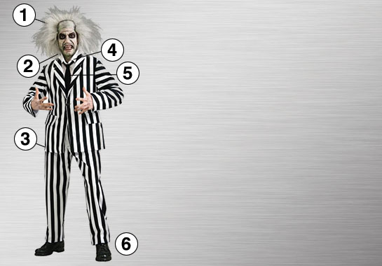 Ultimate Beetlejuice Costume
