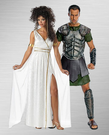 Athena and Perseus Costume Ideas