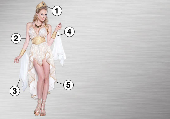 Glamorous Goddess Ultimate Costume