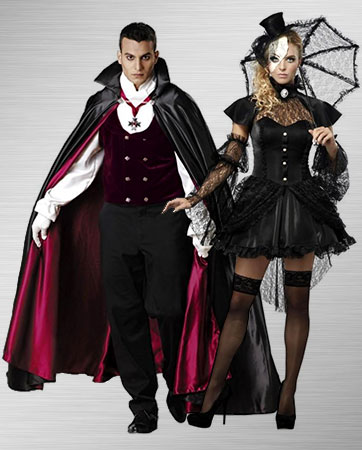 Victorian Doll and Gothic Vampire Costume Ideas