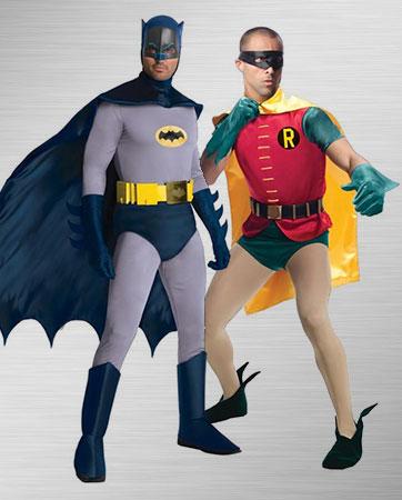 Batman and Robin Costume Ideas